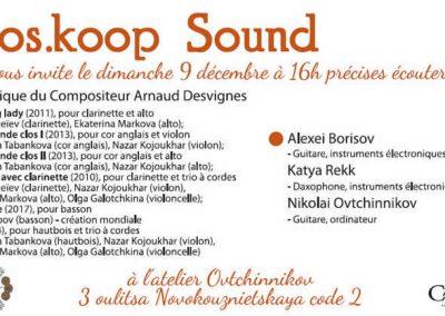 MosKoop Sound décembre 2018